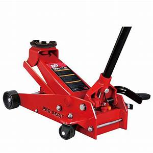 big red 35 ton steel floor jack t83502 the home depot With floor jack failure