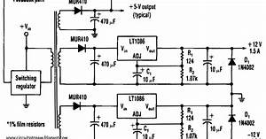 Build A Efficient Negative Voltage Regulator Wiring