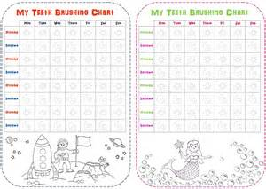 Free Printable Tooth Brushing Chart
