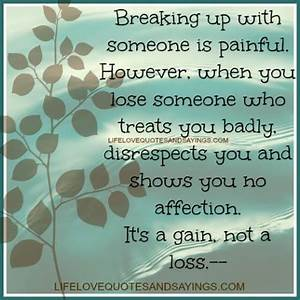 Painful Breakup... Upwith Quotes