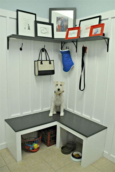 Corner Entryway Storage - 15 creative diy storage benches hative