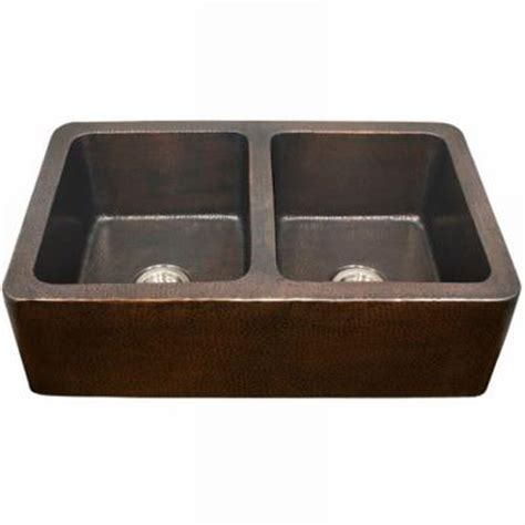 home depot farm sink houzer hammerwerks series kitchen farmhouse undermount