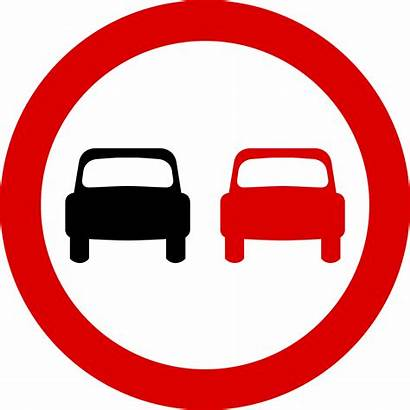 Signs Overtaking Mauritius Prohibitory Svg Road Sign