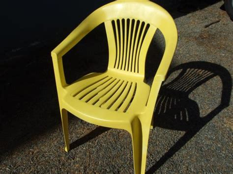 reving plastic patio chairs one house one
