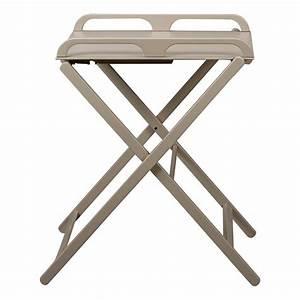 Table A Langer Design : table langer pliante jade laqu gris combelle design b b ~ Teatrodelosmanantiales.com Idées de Décoration
