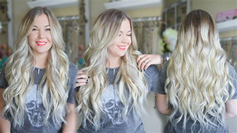 How To Tone Brassy Blonde Clip-in Extensions