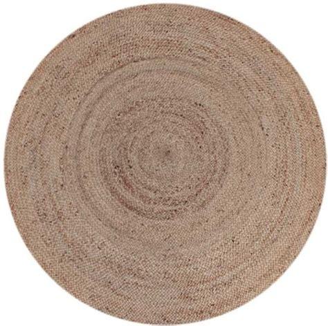 vloerkleed rond 180 cm bol label51 vloerkleed jute 150 cm naturel