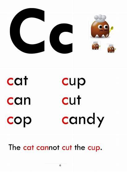 Phonics Letter Beginner Words Sentence Esl Letters