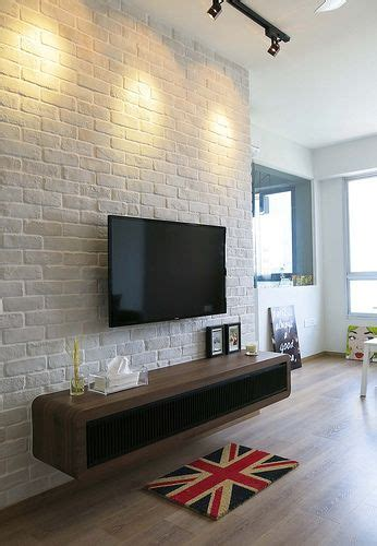 white brick wall ideas  internet  decor