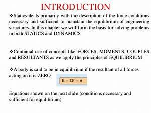 Engineering Statics  Equilibrium