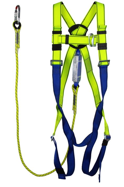 lanyard absorber harness shock absorber lanyard and karabiner gfp10