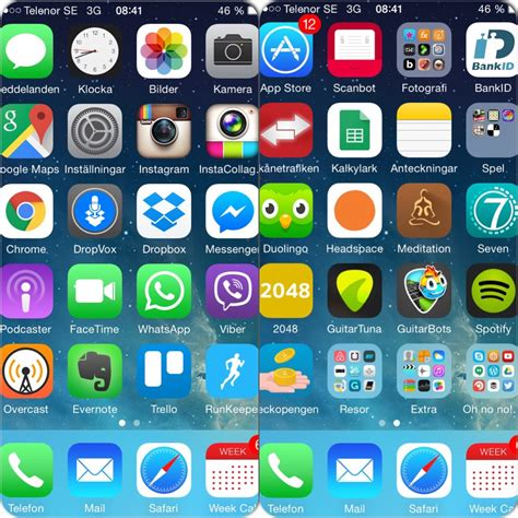 apps for iphone day 90 57 color coded app structure cleanse4expansion