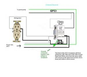gfci wiring diagram without ground wiring diagram and