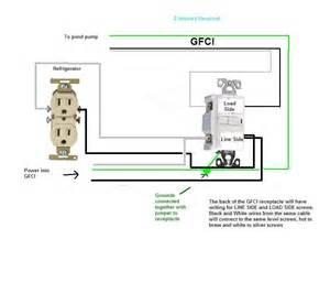 3 wire gfci circuit diagram wiring diagram