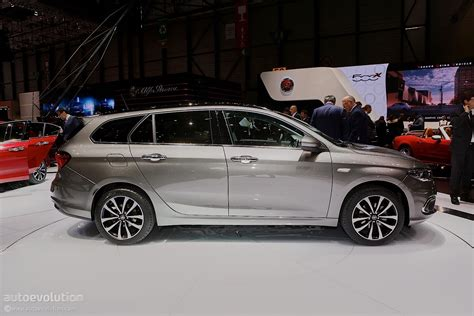 Fiat Wagon by 2017 Fiat Tipo Station Wagon Review Larger Than The