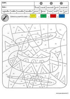coloriage magique lecture maternelle grande section