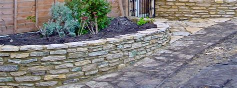 Garden Wall Building And Rendering