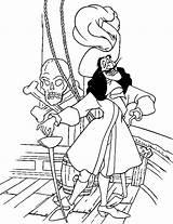 Hook Captain Coloring Pages Printable Peter Boat Pan Disney Sheet Popular Kunjungi Library sketch template