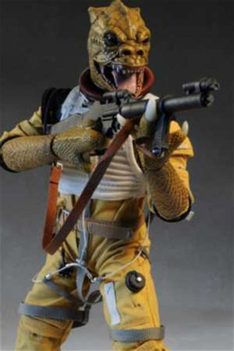Review and photos of Star Wars Bossk sixth scale action ...