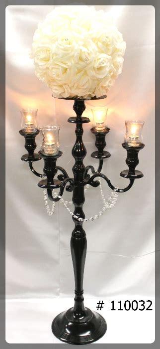 black candelabra rentals wedding rentals toronto