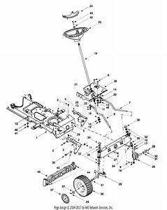 Mtd 13at604g401  1999  Parts Diagram For Frame  Axle  Front