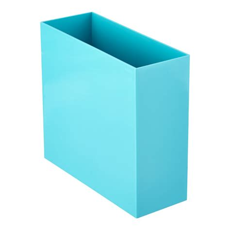 aqua poppin hanging file box the container store
