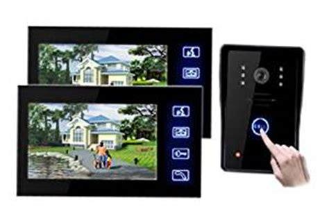 neu 7 touchscreen t 252 rsprechanlage gegensprechanlage t 252 r 246 ffner mit 1 kamera nachsicht funktion