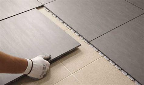 piastrelle posa a secco pavimento a secco in gr 232 s come si posa rifare casa