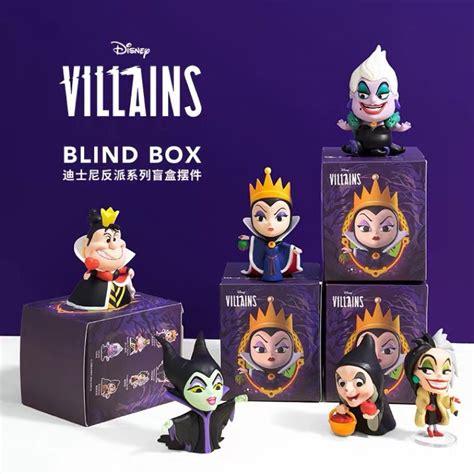 miniso disney villains vinyl mini figurines maleficent