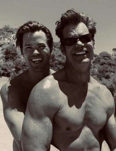 "Andrew Rannells to Tuc Watkins: ""I'm all yours"""