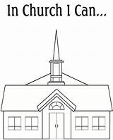 Church Coloring Pages Lds Chapel Clipart Christmas Going Gospel Cliparts Books Library Clip Mormon Adults Families Ring Christ Jesus sketch template