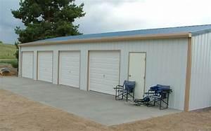 Garage Für 4 Autos : steel metal 4 car garage with shop building kit ebay ~ Bigdaddyawards.com Haus und Dekorationen