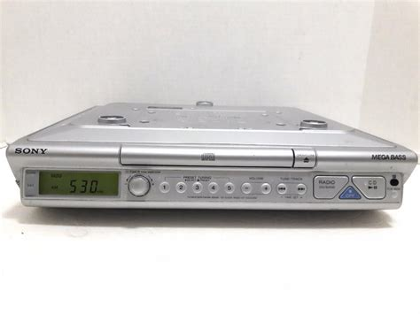 sony under cabinet radio cd player sony icf cd543rm under cabinet radio spacesaver cd clock