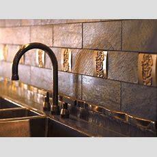 Metal Tile Backsplashes  Hgtv