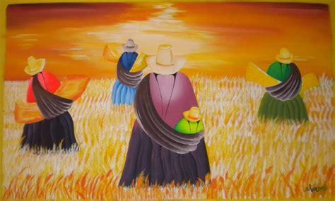 cholitas cegadoras de trigo martinez artelista