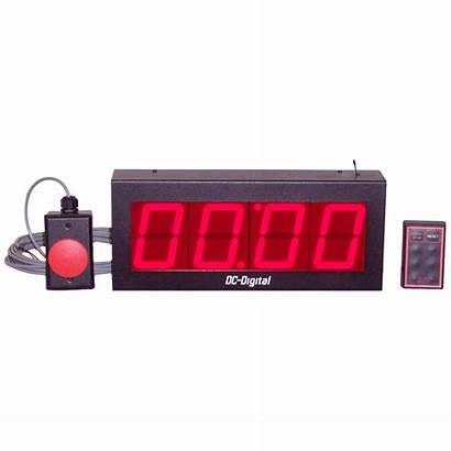 Start Stop Digital Wireless Dc Timer Wired