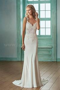 f201001 illusion bodice illusion neckline lace crepe With wedding dresses beach collection