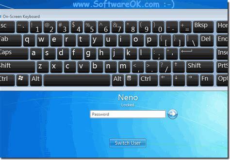 Keyboard For Windows 7 by On Screen Keyboard At Logon Login In Windows 7 Log In