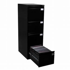 Meuble Rangement Dossier : meuble pour dossiers suspendus 4 tiroirs ~ Teatrodelosmanantiales.com Idées de Décoration