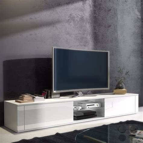 graham white gloss tv stand cm