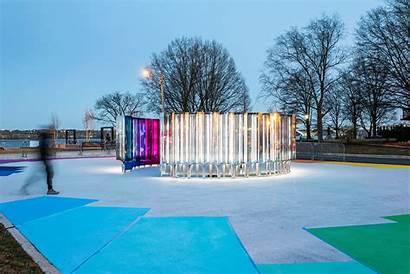 Mirror Alexandria Installation Softlab Waterfront Interactive Virginia