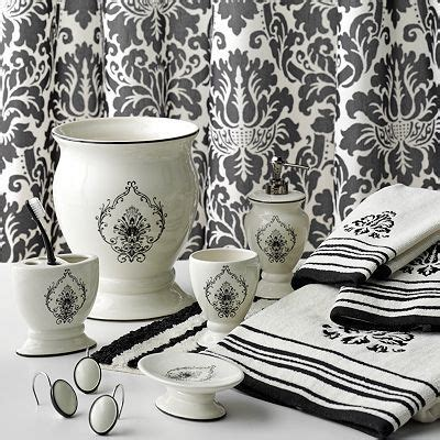Bathroom decor & design ideas. I NEED this set from Kohl's!! (Harper shower curtain and accessories) | Bath accessories, Bath ...