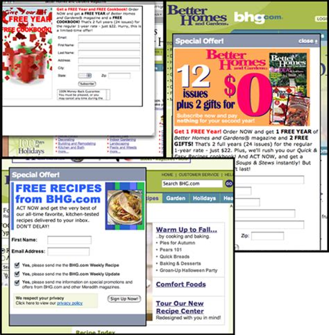 better homes gardens website design review mequoda daily