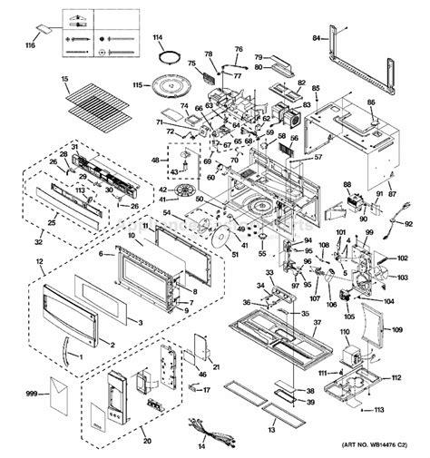 ge pvmsmss parts microwaves