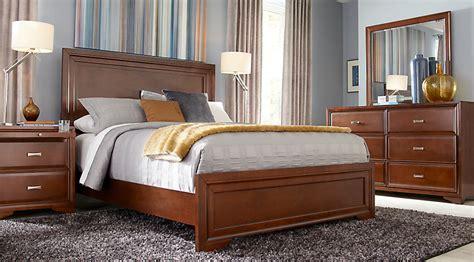 belcourt cherry  pc queen panel bedroom queen bedroom