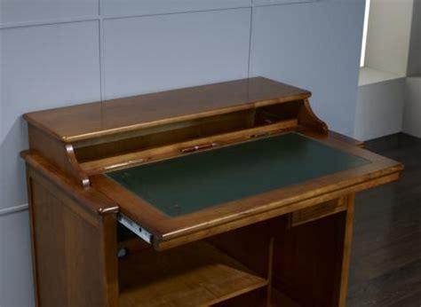 bureau petit prix petit bureau informatique malorie en merisier de style