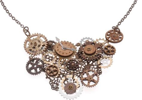 How To Make Steampunk Jewelry Tutorials  The Beading Gem
