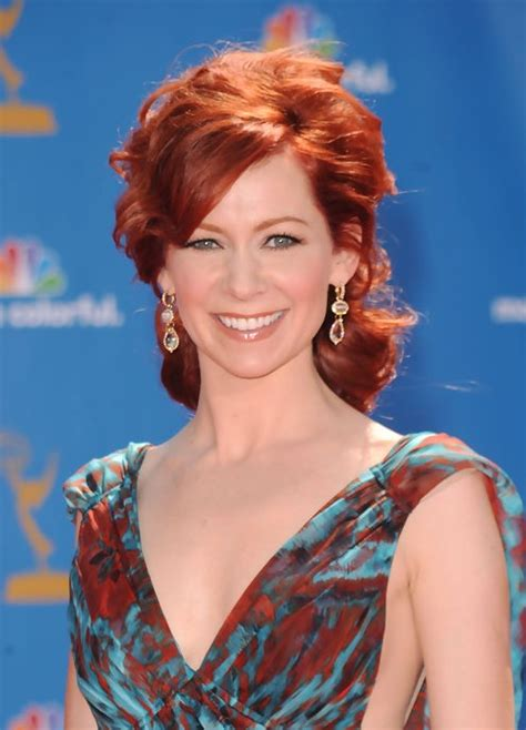 carrie preston messy red hairstyle  women   hairstyles weekly