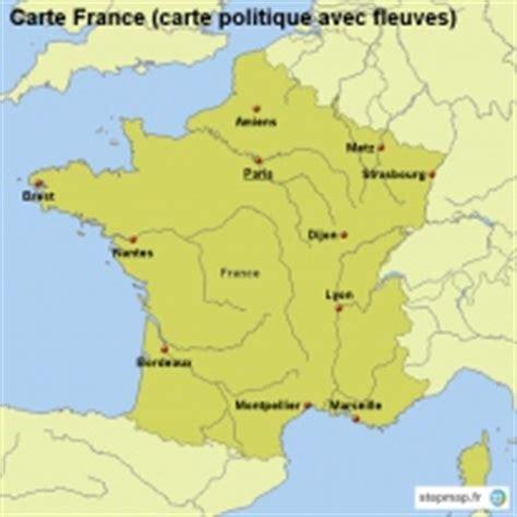 Carte De Avec Villes Fleuves Et Montagnes by Stepmap Cartes De