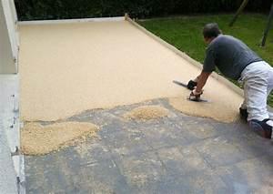 revetement sol pour terrasse obasinccom With photo carrelage terrasse exterieur 7 prix dune terrasses au m2 bois beton composite